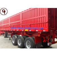 Buy cheap 40 Tons Heavy Duty Cargo Semi Trailer / End Dump Trailer with CE Certification from wholesalers