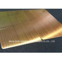 Buy cheap NO3 Finish 430 Cold Rolled Stainless Steel Plate Gauge 19 Size 4 X 8 from wholesalers
