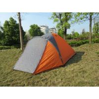 Buy cheap monodome,double skin  camping tent for 3-4 person from wholesalers