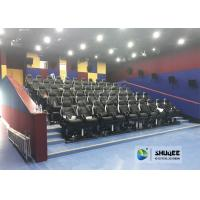 Buy cheap Customized Color 5D Theater System Seats Used For Center Park And Museum from wholesalers