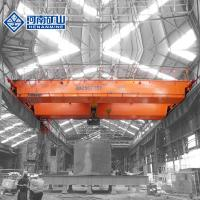 Buy cheap 20t / 30t / 40t Double Girder Overhead Crane High Strength Frame For Lifting from wholesalers