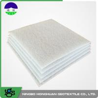 Buy cheap High Strength Non Woven Geotextile Fabric For River Bank PET 1000G from wholesalers