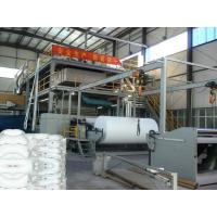 Buy cheap High Efficiency Non Woven Fabric Making Machine With SIEMENS PLC Control System from wholesalers