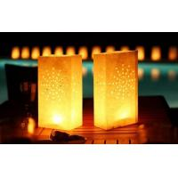 Buy cheap paper luminaire candle bags luminary cute paper gift candle bags for decoration from wholesalers