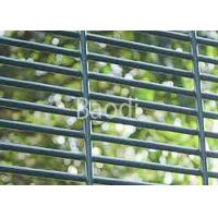 Buy cheap Anti Climb Welded Mesh Panel , Green Powder Coated Wire Security Fencing from wholesalers