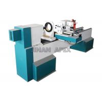 Buy cheap Horizontal Spindles CNC Wood Turning Lathe Machine DSP Control System For Wood Carving from wholesalers