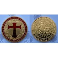 Buy cheap Fake gold/silver Masonic Knights Templar coin /Red Cross coin from wholesalers