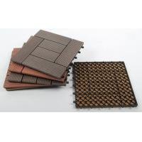 Buy cheap Sunshien WPC decking tile 300*300mm  for outdoor highly reliable as customer DIY organized from wholesalers