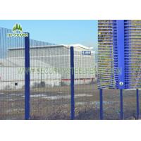 Buy cheap High Security PVC Coated Wire Mesh PanelsVarious Sizes Convenient Installation from wholesalers