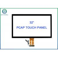China 32 Inch USB Touch Screen Sensor Bonded Strengthened Cover Glass For Vending Machines on sale
