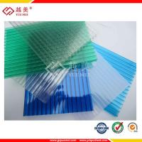 Buy cheap Grade A Yuemei Lexan twin wall hollow polycarbonate sheet price from wholesalers