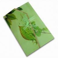 Buy cheap Card, Customized Sizes/Artworks are Accepted, Made of CIS/C2S Coated Art Paper from wholesalers