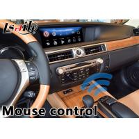 Buy cheap Android 6.0 Video Interface for Lexus GS 2014-2018 mouse version, Car Gps Navigation Box Mirrorlink GS450h GS350 from wholesalers