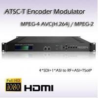Buy cheap SDI Encoder&Modulator MPEG-2/H.264 SDI TO ATSC Four-Channel Encoder Modulator VCT supported for ATSC mode from wholesalers
