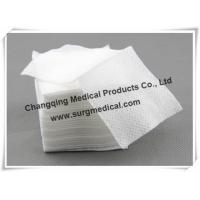 Buy cheap Latex Free Medical Non - Woven Wound Dressing Sponge Non - linting from wholesalers