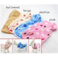 Buy cheap Ladies Pet XXL , XXS puppy clothes Fleece Dog Hoodie Winter Coats for Chihuahua from wholesalers