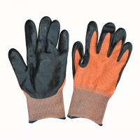 Buy cheap Super Grip Nitrile Coated Hand Gloves Prevent Dirt And Debris From Entering from wholesalers