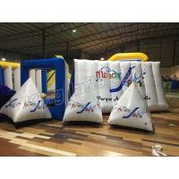 Buy cheap Triangle Airtight  Inflatable Floats Buoys For Water Park With Air Pump from wholesalers