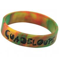Buy cheap Silicone Bracelet mixed colors, Silicone Wristband with Camouflage Color from wholesalers