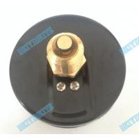 Buy cheap 80mm Round temperature Pressure gauge with chrome bezel and 1/2 inch brass connector from wholesalers