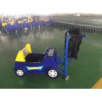 Buy cheap Colored Plastic Kids Shopping Carts Trolleys With Ipad In Front from wholesalers