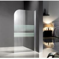 Buy cheap Professional Glass Shower Enclosures , bathtub screen with serigraphy painted from wholesalers