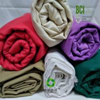 Buy cheap China BCI Better Cotton Plain Twill fabric  cotton canvas with BCI certificate from wholesalers