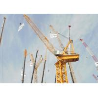 Buy cheap 100 Ton 76m Luffing Tower Crane For Building Construction XGTL1600/1600II product