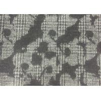 Buy cheap Classical Design Flower Jacquard Weave Fabric White And Black Color from wholesalers