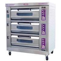 Buy cheap Luxury Commercial Pizza Oven With Microcomputer Control 3 Layer 6 Trays from wholesalers