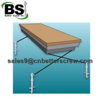 Buy cheap Galvanized Anchor Bolts , Light Poles and Anchor Bolt Express from wholesalers