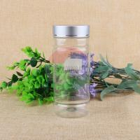 China Factory Price 500ml Clear Empty Pet Plastic Screw Sweet Jar For Food on sale