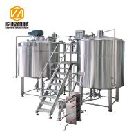 Buy cheap Micro Craft Small Microbrewery Equipment 5HL Stainless Steel Energy Saving Type from wholesalers