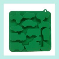Buy cheap green silicone ice tray ,animals shape silicone ice trays product