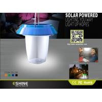 Buy cheap Portable LED Solar Camping Lantern Light , IP54 Waterproof solar tent lights from wholesalers