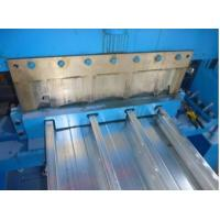 Buy cheap Hydraulic Cutting Floor Deck Roll Forming Machine 7.5KW For Color Galvanized Steel Sheet product