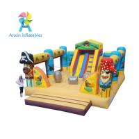 Buy cheap Giant fun children bouncy Pirate Ship Inflatable Playground equipment from wholesalers