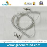 Buy cheap Transparent Clear Spring Steel Wire Lanyard W/Swivel Clips from wholesalers