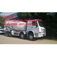 Buy cheap Sinotruk Howo 6x4 Concrete Mixer Truck / Concrete Mixing Equipment 6cbm 70 Cabin With Air Condition from wholesalers
