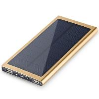 Buy cheap High Quality 8000mAh Polymer Lithium Battery Solar Charger Waterproof power bank for Mobile phone from wholesalers