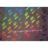 Buy cheap Metallized Polypropylene BOPP Holographic Film Laser Transfer 21 Micorn from wholesalers