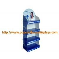 Buy cheap Secret Deodorant Cardboard Floor Displays , Point Of Sale Paper Floor Display Stand from wholesalers
