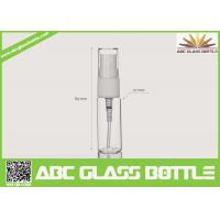 Quality 5-15ml Clear Glass Tube Bottle For Sale for sale