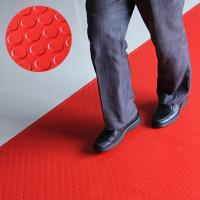 Buy cheap PVC coin mat, thickness 1.5mm, 1.2*15m/roll, color red and green, anti-slip, water-proof from wholesalers