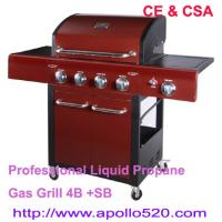 Buy cheap Freestanding Gas Grill Barbecue with 5burners from wholesalers