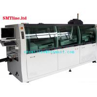 Buy cheap CNSMT Lead Free Dual SMT Wave Soldering Machine Streamlined Design 1300KG Weight from wholesalers