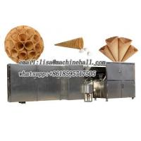 Buy cheap Stainless Steel Rolled Sugar Cone Machine Plant|Waffle Cone Baking Machine Suppliers from wholesalers