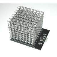 Buy cheap 8X8X8 RGB LED Cube Shield (Dimensions: 120×100×90mm  Net weight: 265g ) from wholesalers