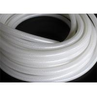 Buy cheap Fiber Braided Reinforced Silicone Hose / Medical Grade Braided Flexible Hose from wholesalers