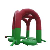 Buy cheap High Soundness Kids Inflatable Trampoline Anti - Crack Stable Chemical from wholesalers
